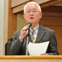 2019年度支部代アピールを読み上げる田部井副代表