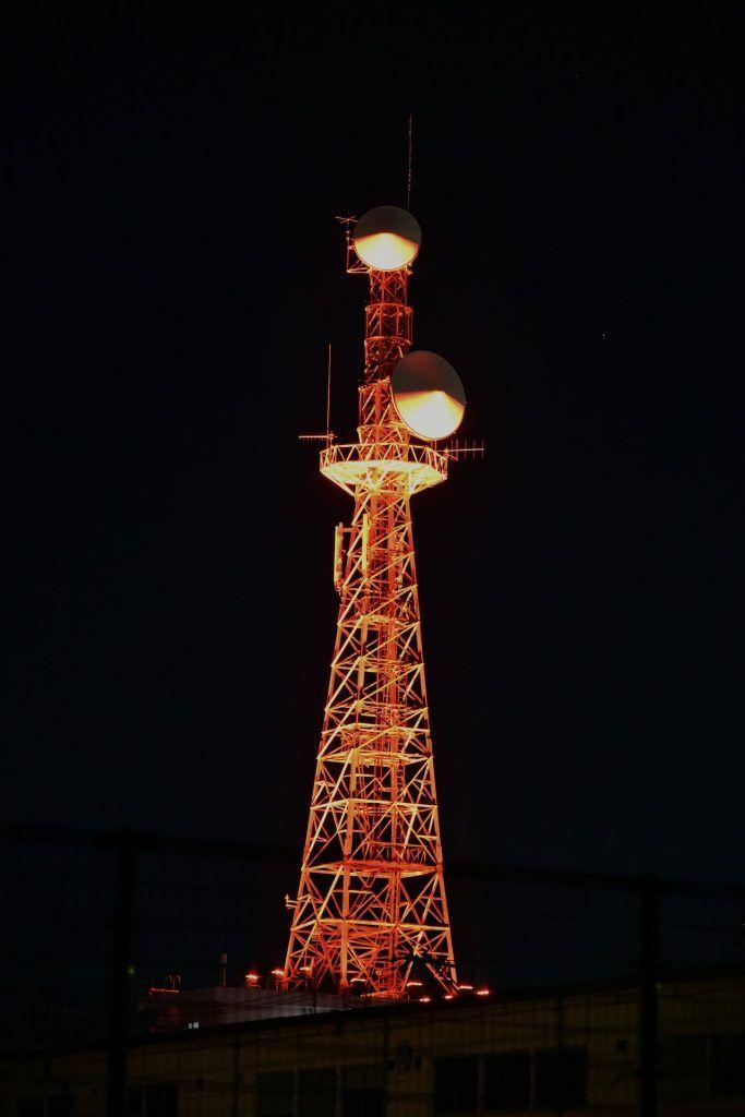 会津若松市 東北電力ネットワーク株式会社 無線鉄塔